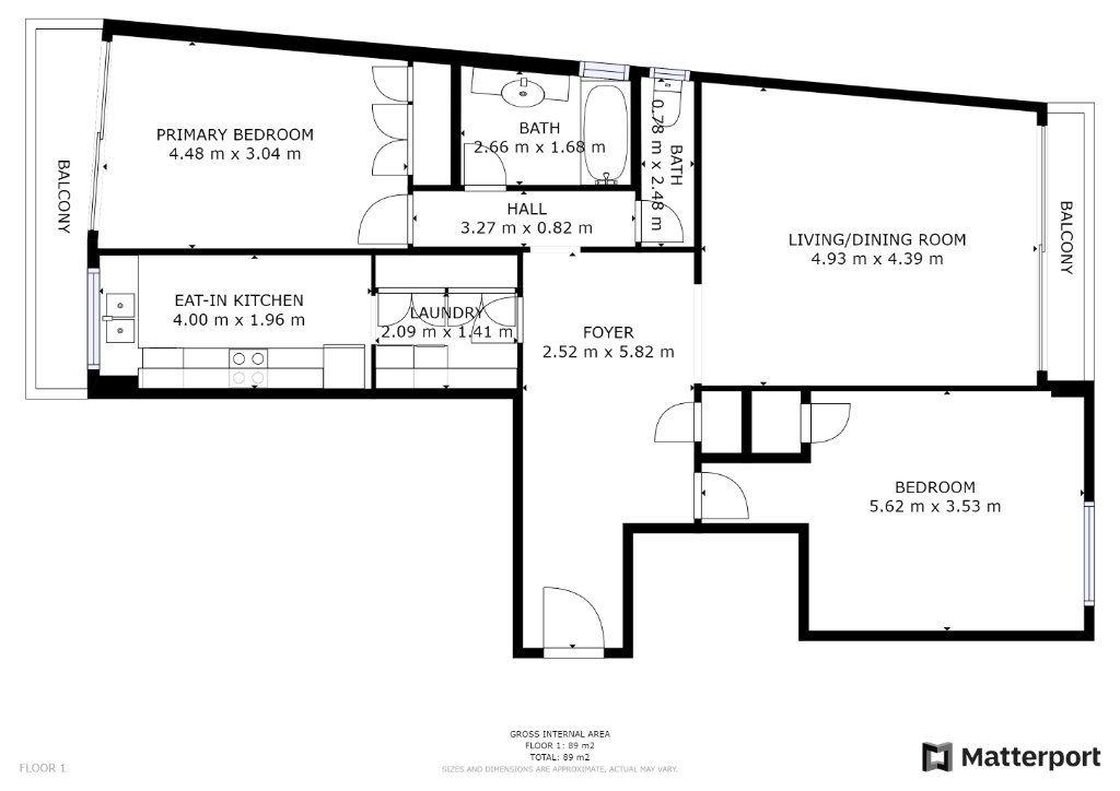 Appartement à vendre 3 86.92m2 à Juan-les-Pins - Antibes vignette-6