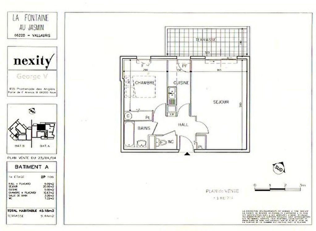 Appartement à louer 2 45m2 à Vallauris vignette-7