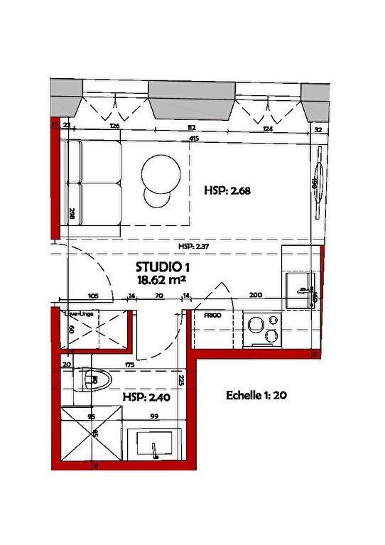 Appartement à vendre 1 18.62m2 à Biot vignette-9