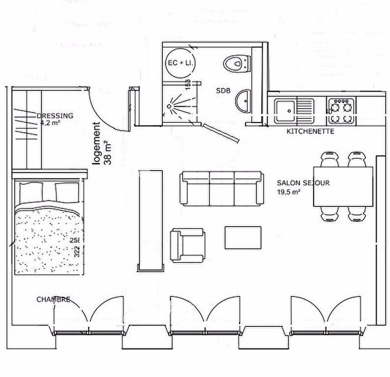 Appartement à louer 2 38m2 à Nancy vignette-5