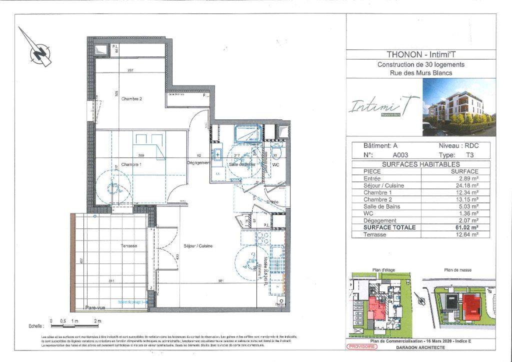 Appartement à vendre 3 61.64m2 à Thonon-les-Bains vignette-2