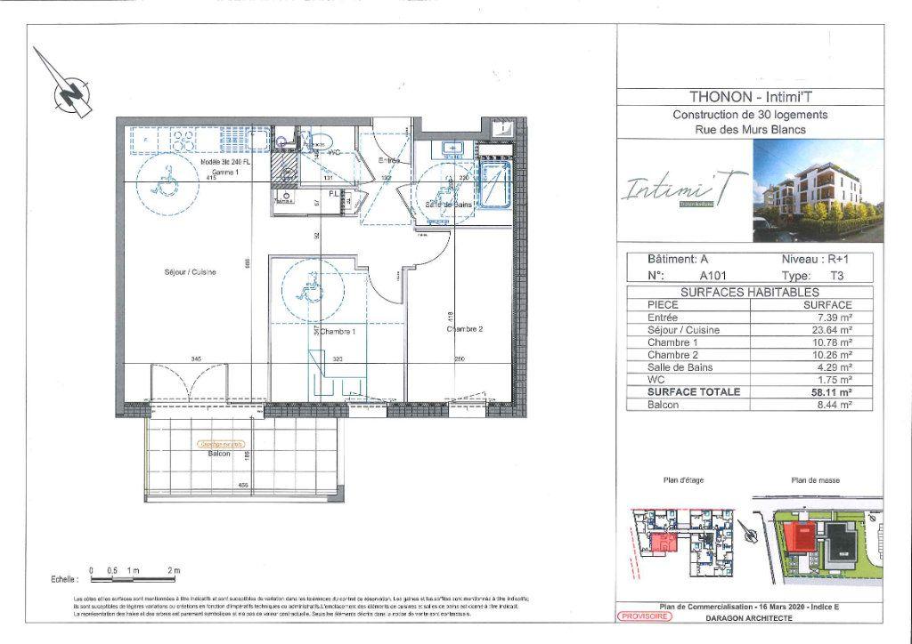 Appartement à vendre 3 57.93m2 à Thonon-les-Bains vignette-2