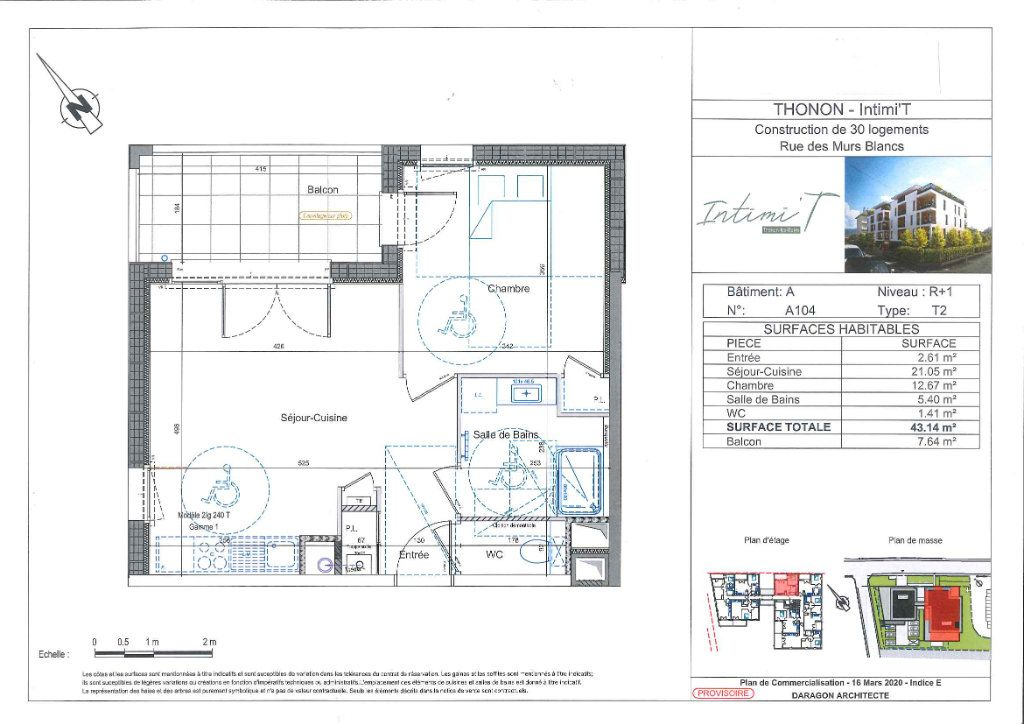 Appartement à vendre 2 43m2 à Thonon-les-Bains vignette-2