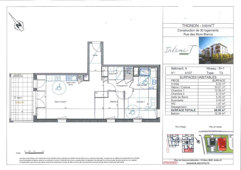 Appartement à vendre 3 69.01m2 à Thonon-les-Bains vignette-2