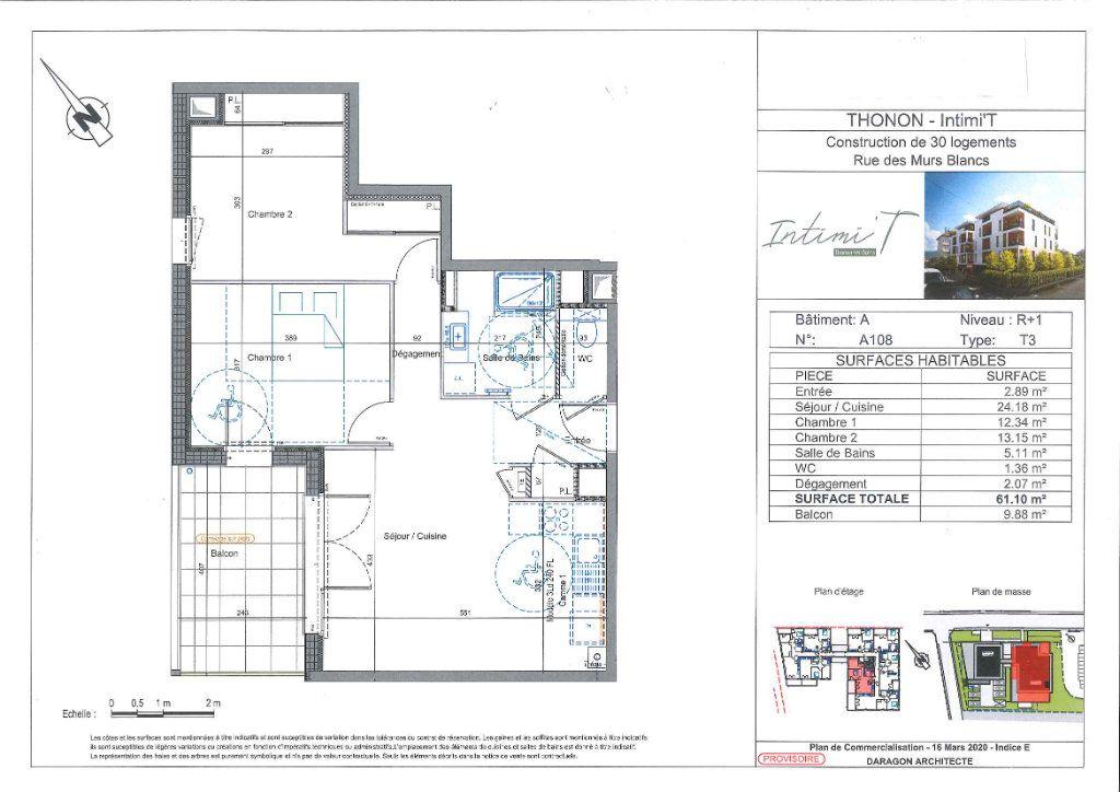 Appartement à vendre 3 61.48m2 à Thonon-les-Bains vignette-2