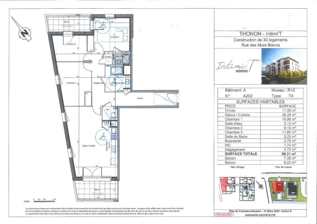 Appartement à vendre 4 86.32m2 à Thonon-les-Bains vignette-2
