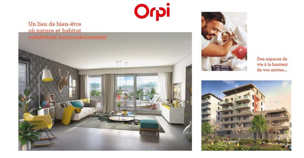 Appartement à vendre 3 64.69m2 à Grenoble vignette-2