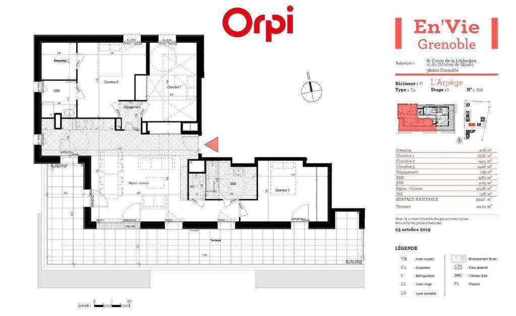 Appartement à vendre 4 64.69m2 à Grenoble vignette-2