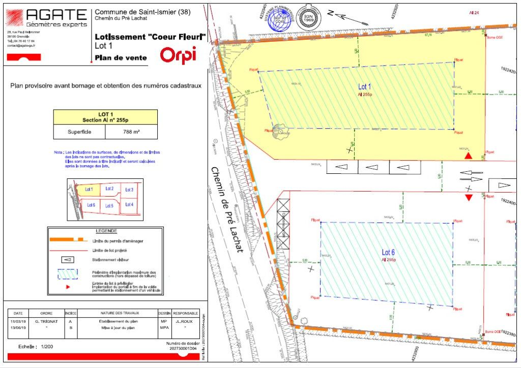 Terrain à vendre 0 783m2 à Saint-Ismier vignette-2
