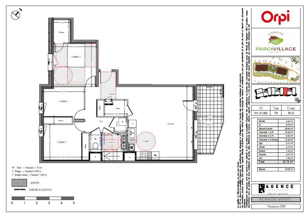 Appartement à vendre 4 83.78m2 à Sassenage vignette-3