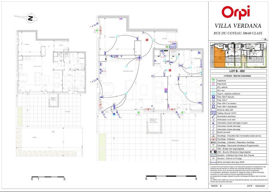 Appartement à vendre 3 75.73m2 à Claix vignette-2