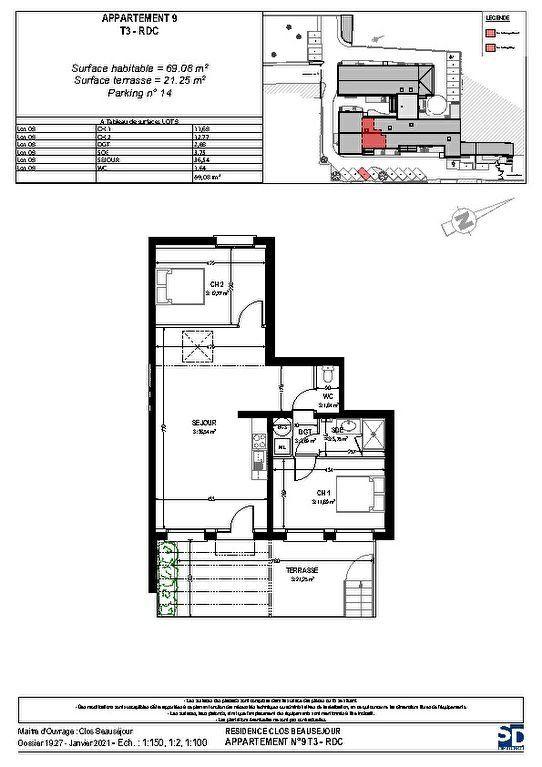 Appartement à vendre 3 69.08m2 à Rochefort vignette-3