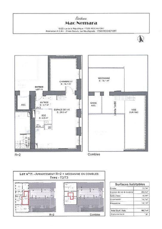 Appartement à vendre 3 67m2 à Rochefort vignette-5