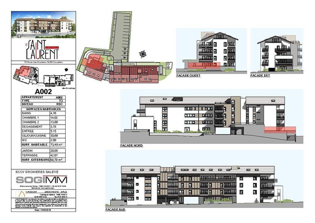 Appartement à vendre 4 84m2 à Cruseilles plan-2