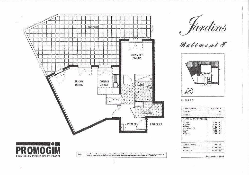 Appartement à louer 2 51.43m2 à Valleiry vignette-5