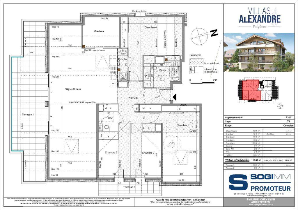Appartement à vendre 5 118m2 à Feigères vignette-2