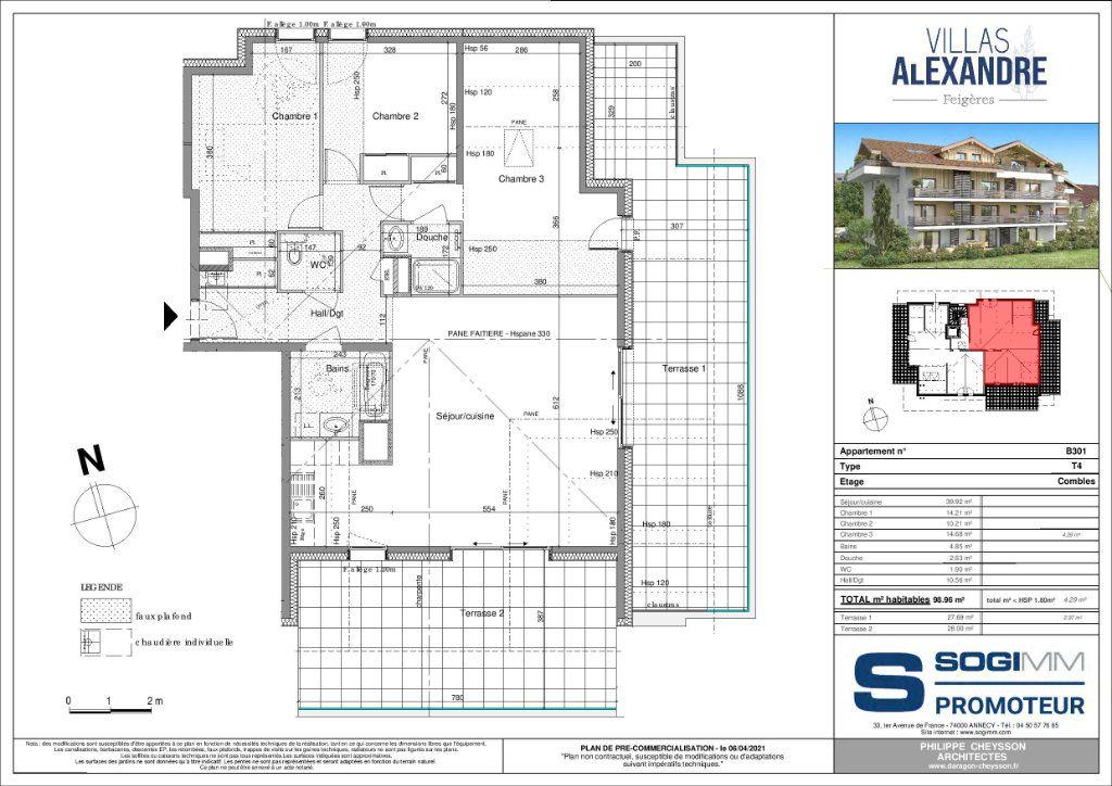 Appartement à vendre 4 98m2 à Feigères vignette-2