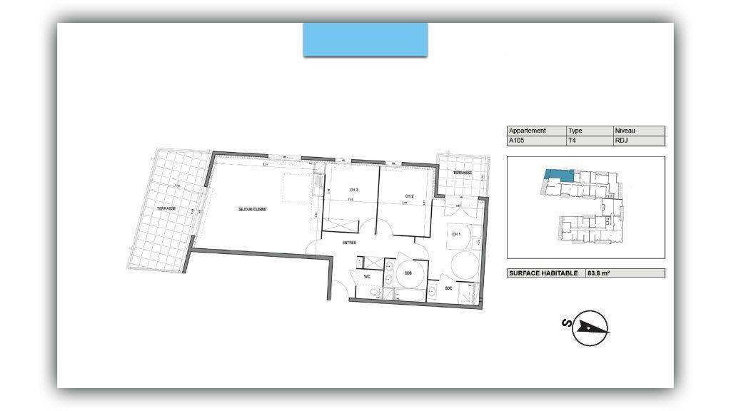Appartement à vendre 4 83.8m2 à Villeneuve-lès-Avignon vignette-2