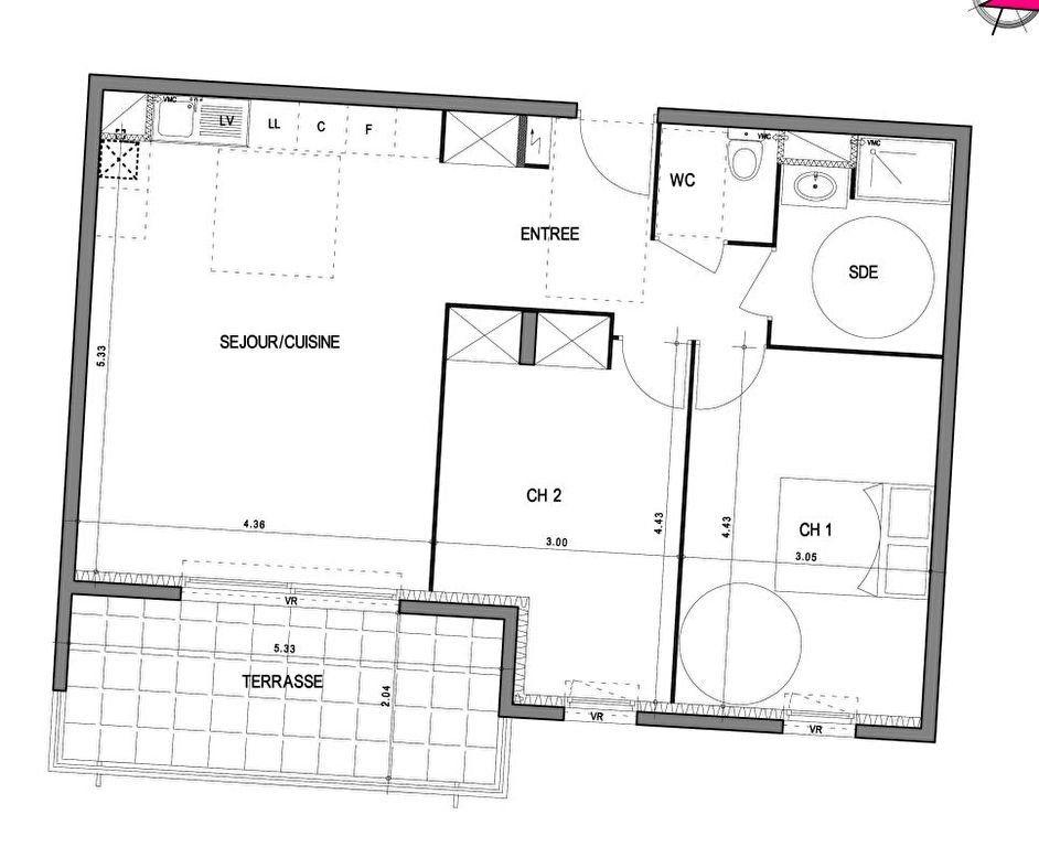 Appartement à vendre 3 66.02m2 à Villeneuve-lès-Avignon vignette-4