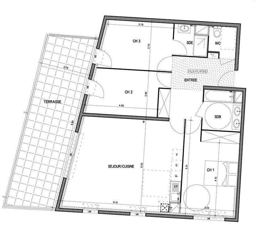 Appartement à vendre 4 89.3m2 à Villeneuve-lès-Avignon vignette-4