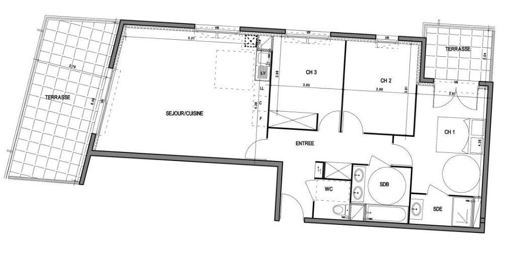 Appartement à vendre 4 83.8m2 à Villeneuve-lès-Avignon vignette-4