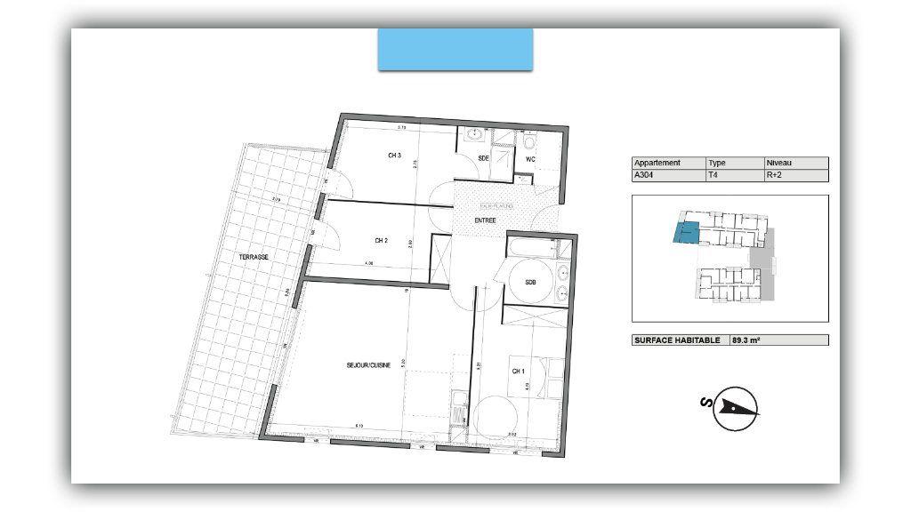 Appartement à vendre 4 89.3m2 à Villeneuve-lès-Avignon vignette-2