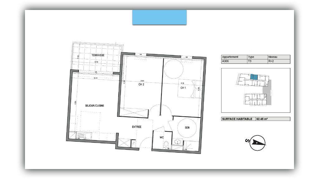 Appartement à vendre 3 62.45m2 à Villeneuve-lès-Avignon vignette-2