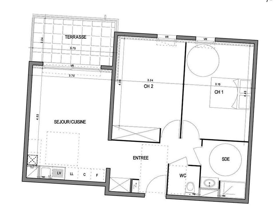 Appartement à vendre 3 62.45m2 à Villeneuve-lès-Avignon vignette-3