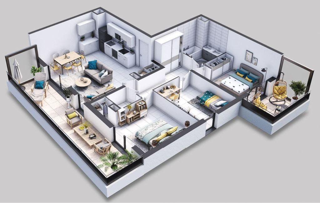 Appartement à vendre 4 80.01m2 à Villeneuve-lès-Avignon vignette-1