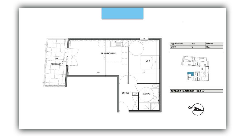 Appartement à vendre 2 45.3m2 à Villeneuve-lès-Avignon vignette-2