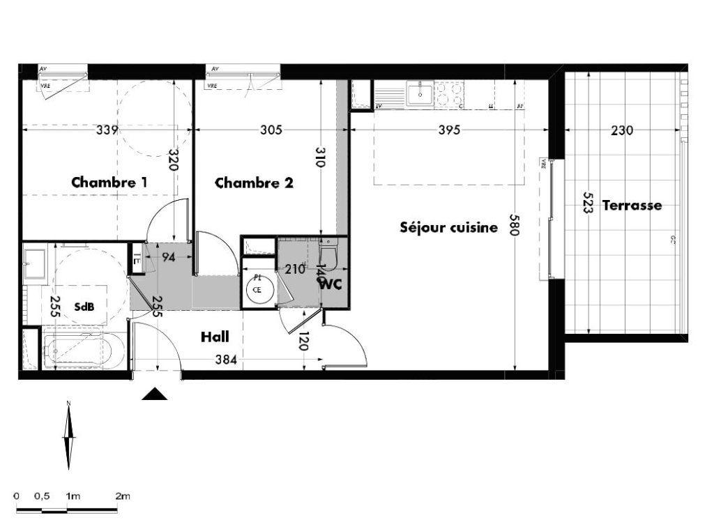Appartement à vendre 3 58.55m2 à Villeneuve-lès-Avignon vignette-5