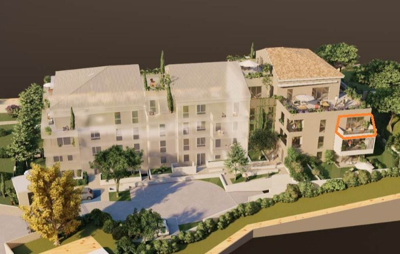 Appartement à vendre 3 58.55m2 à Villeneuve-lès-Avignon vignette-1