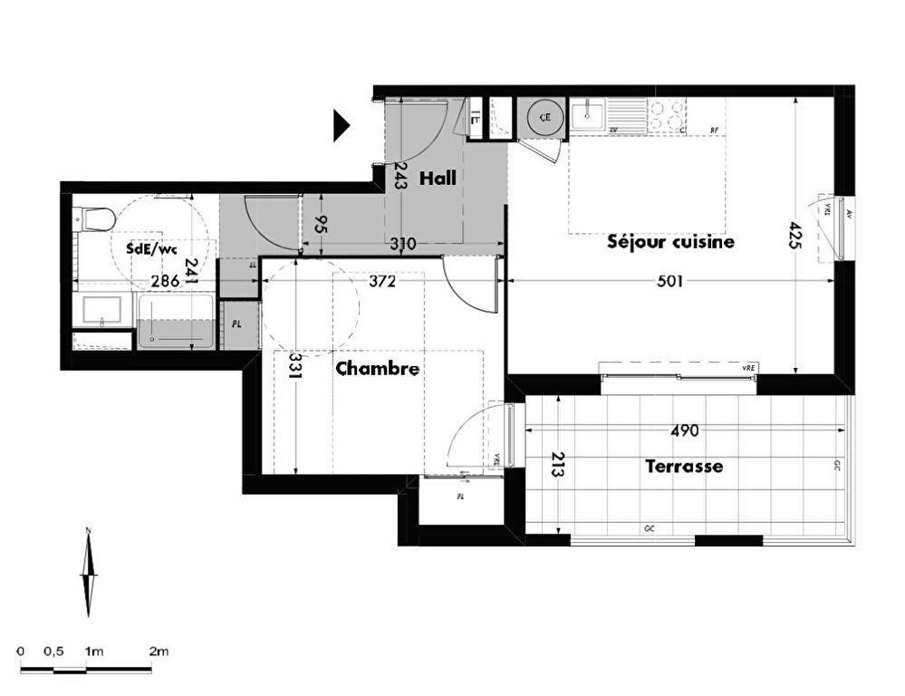 Appartement à vendre 2 46.91m2 à Villeneuve-lès-Avignon vignette-5
