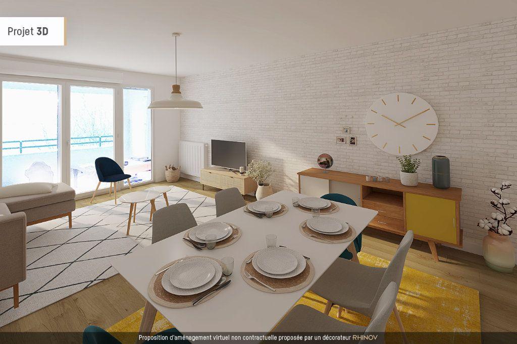 Appartement à vendre 3 75.22m2 à Villeurbanne vignette-2