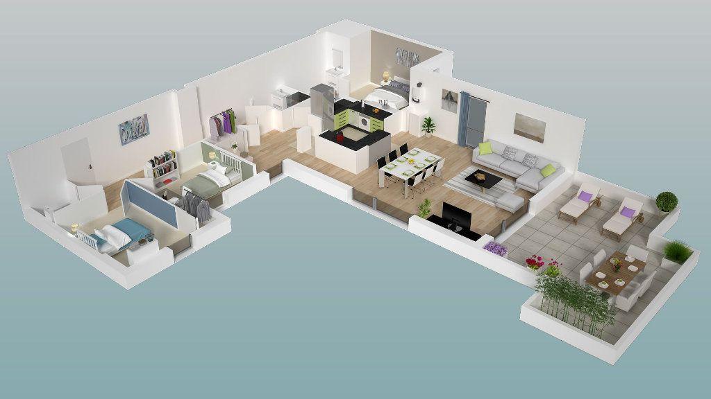 Appartement à vendre 5 109.79m2 à Dieppe vignette-5