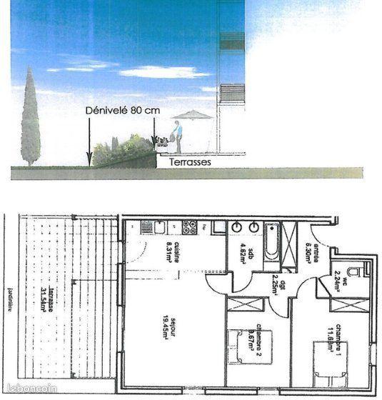 Appartement à vendre 3 64m2 à Toulouse vignette-5