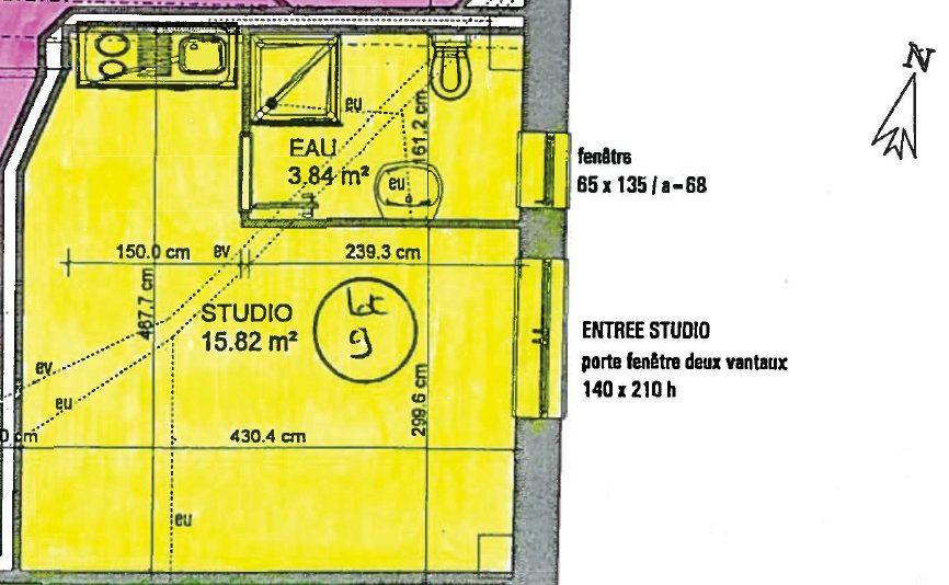 Appartement à vendre 1 20m2 à Toulouse vignette-5