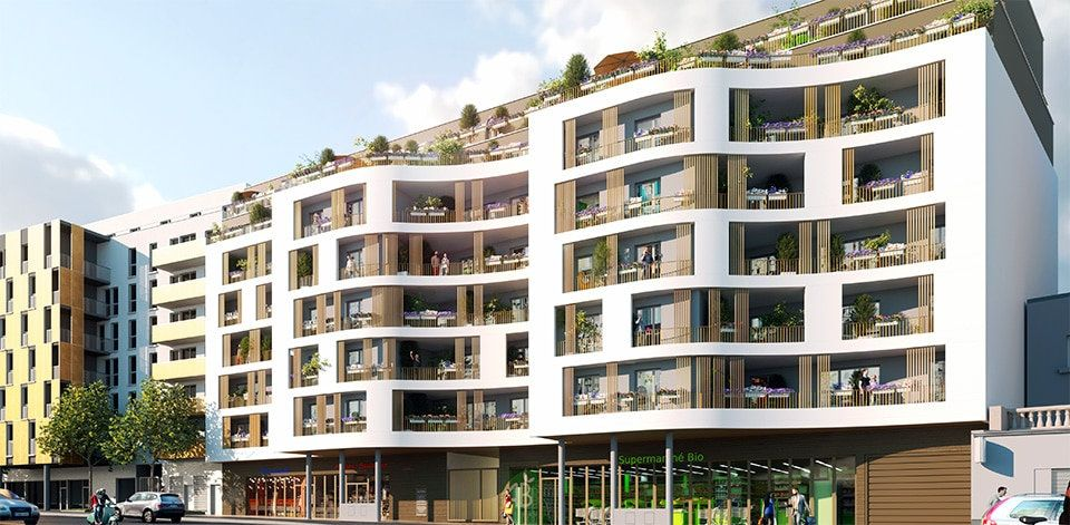 Appartement à vendre 3 62.29m2 à Bagnolet vignette-1