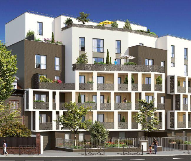Appartement à louer 2 46.49m2 à Noisy-le-Sec vignette-1