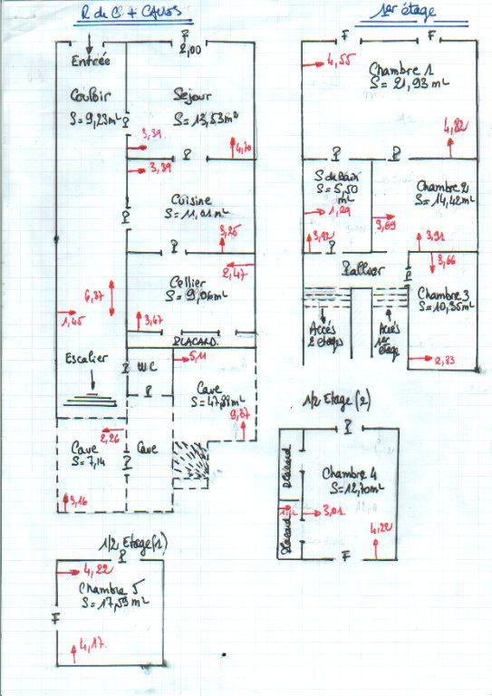 Maison à vendre 11 300m2 à Cabasse plan-1