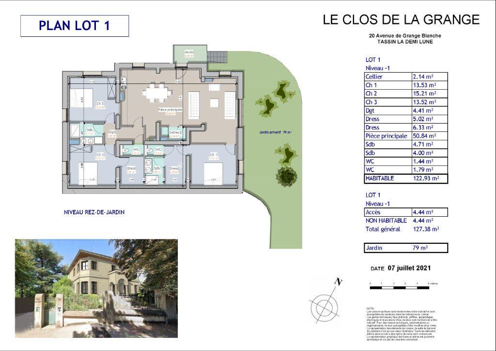 Appartement à vendre 5 122.93m2 à Tassin-la-Demi-Lune vignette-7