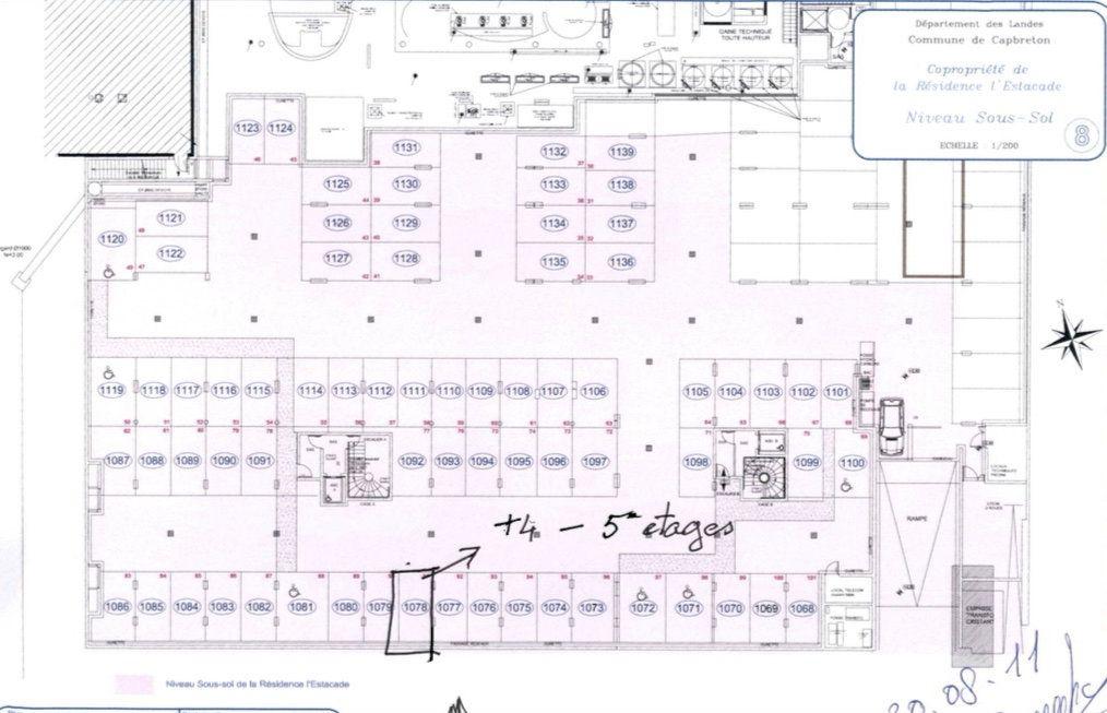 Appartement à vendre 3 103m2 à Capbreton plan-1
