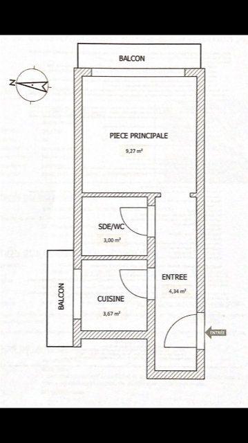 Appartement à vendre 1 20.28m2 à Cannes vignette-2