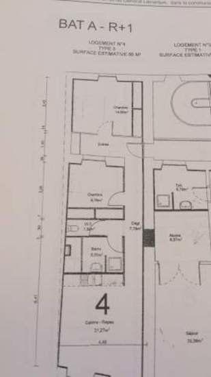 Appartement à vendre 3 66m2 à Saint-Sever vignette-5
