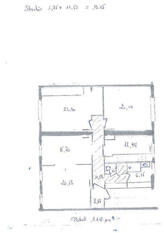 Appartement à vendre 4 125m2 à Vichy plan-1