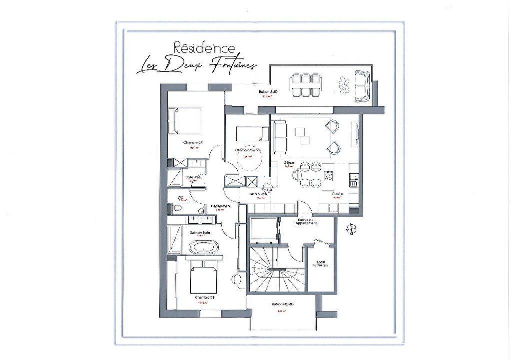 Appartement à vendre 3 82.1m2 à Vichy vignette-5