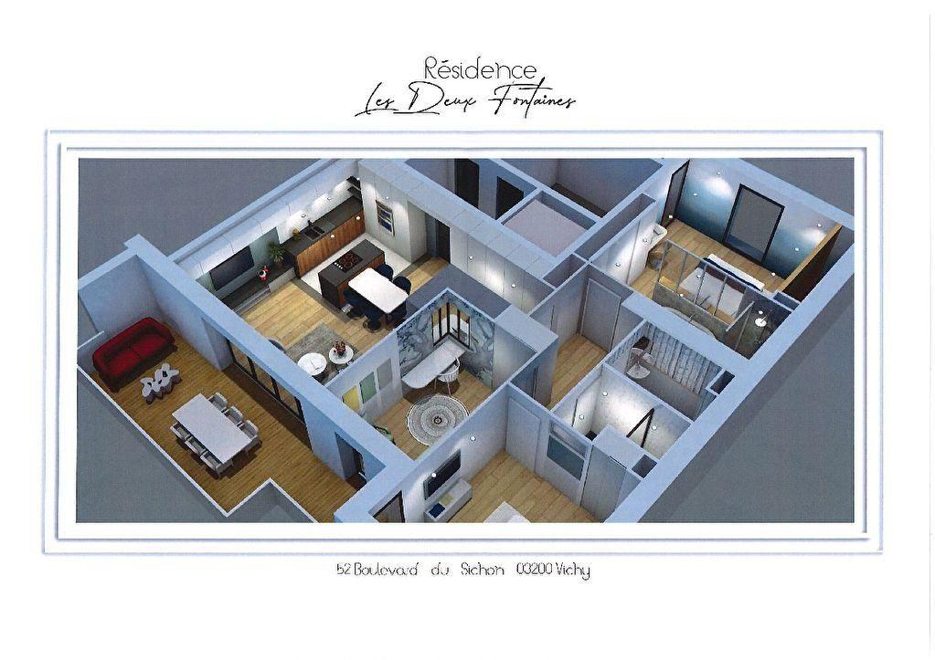 Appartement à vendre 3 82.1m2 à Vichy vignette-7