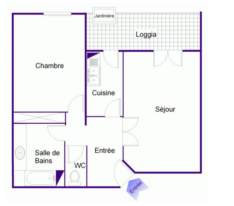 Appartement à vendre 2 54m2 à Montpellier vignette-11