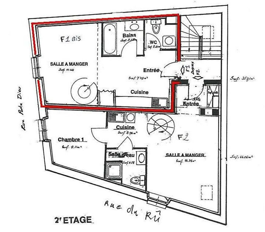 Appartement à louer 1 34.25m2 à Beaugency vignette-7