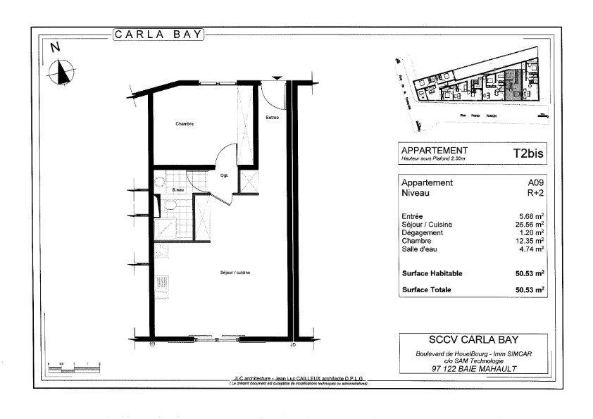 Appartement à vendre 3 64.02m2 à Saint-François vignette-3